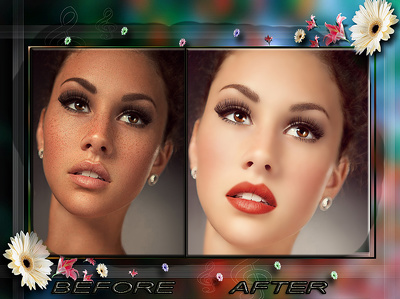 "Retouch and recolor any 35 photos and delivery in 72 hours ""Buy now ""to get"
