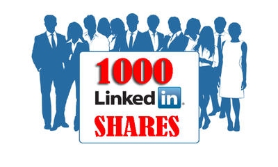 Promote your website with Permanent 1000 LINKED SHARES SEO and SOCIAL SIGNALS
