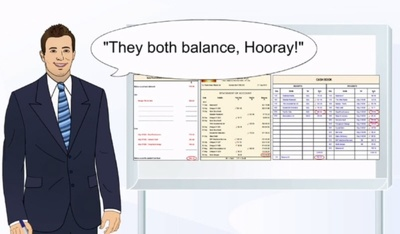 Produce your Bank reconciliation