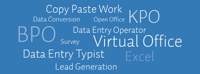 Be your Data Entry Service Provider for 1 hour