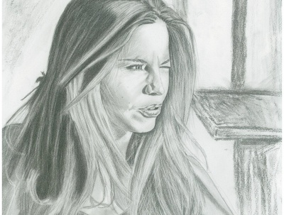 Draw you a charcoal or graphite portrait
