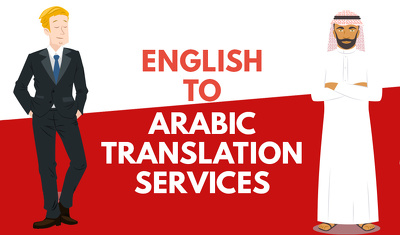 Professional translation from English To Arabic / 1000 words