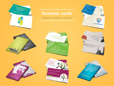 Design unique & eye-catching business card
