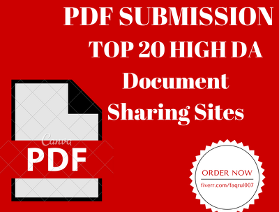Do Best PDF Submissions To 20 Document Sharing Sites