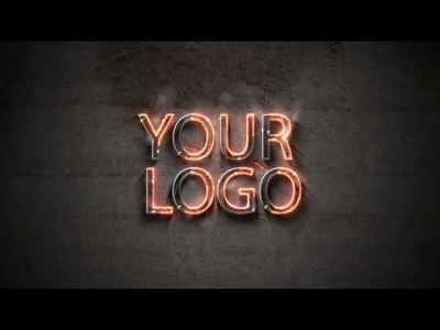 Create an Awesome logo reveal animation video (fire and metal style)
