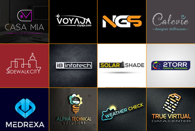 Design ELEGANT LOGO for your brand with source file