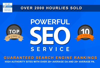 The VIP SEO Link building Package: Get to rank #1 on Google Today with real results!