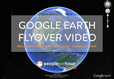 Create a Google Earth flyover video for real-estate marketing