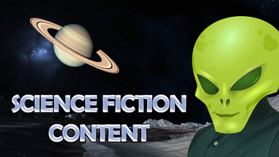 Write science fiction content