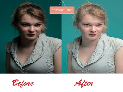 Retouch 10 images