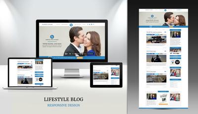 Convert  PSD into Wordpress Landing page