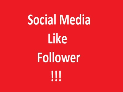 Provide 1100 Social media   like or Follow