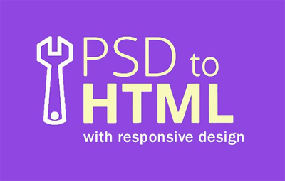 Convert psd to responsive html5/css3 layout