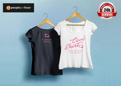 Design an amazing tshirt with a Free mockup design