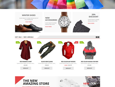 E-Commerce Web Development including 100 Variable Products Listing