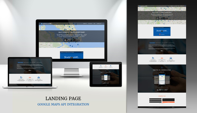 Professional  Landing page implementation