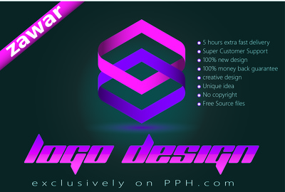 Design professional logo designs within few hours