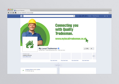 Design your Facebook cover photo