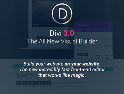 Install and customize divi theme with divi page builder