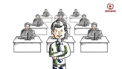 Create whiteboard animated video