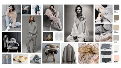 Create an inspirational trend mood board