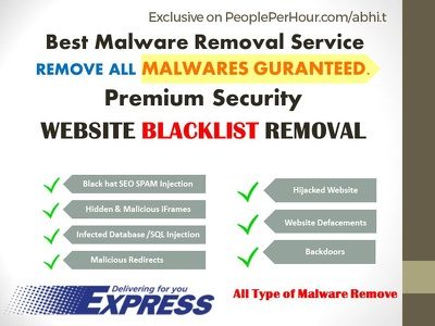 Clean malware, hacked virus or malicious code from Wordpress + Remove Blacklist