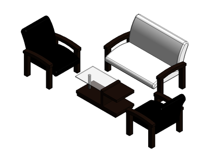 3D Model and render your custom furniture in Revit
