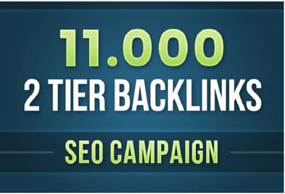 Create 11000 backlinks for your website that would improve your SEO & google rating