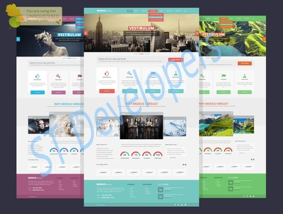 Create you wonderful responsive webpage by html
