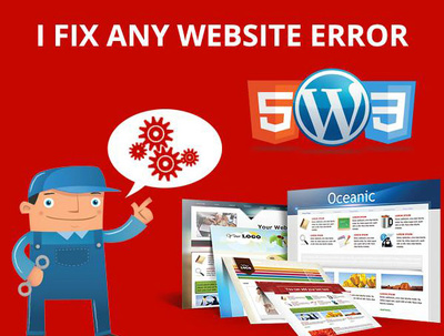 Fix issues or bugs from your website