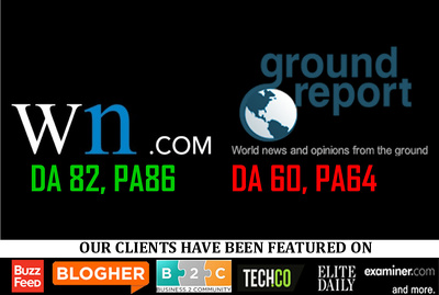 Publish on WN.com [DA82, PA86] WorldNews or GroundReport [DA60, PA64]