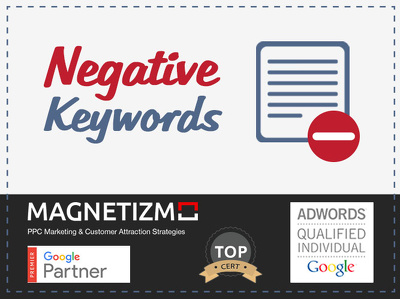 identify Negative keywords for your adwords account and set them up for you