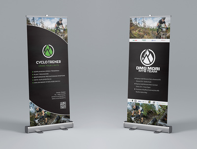 Design a roll up banner with unlimited revisions