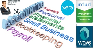 Do your Bookkeeping on QuickBooks / Xero / Wave / MS Excel