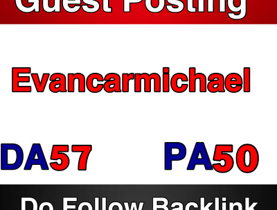 Publish a guest post on EvanCarmichael  DA 57 PA 50  --  EvanCarmichael.com