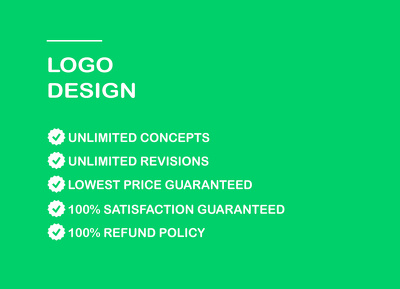 Professional logo Design + UNLIMITED Concepts + UNLIMITED Revisions
