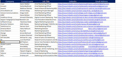 500 Decision maker 100% valid email of any companies.