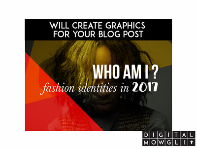 Create 2 awesome blog graphics