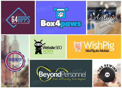 Design a professional logo + Unlimited Revisions/Concepts + Free Favicon