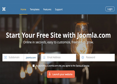 Design your professional Joomla website