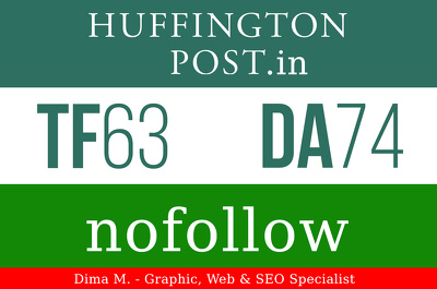 Write and Publish an Article on the HuffingtonPost.in - Google indexed