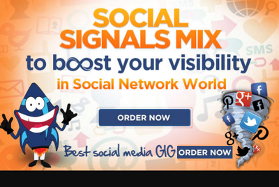Do Social Signals Mix to boost visibility in Social Networks
