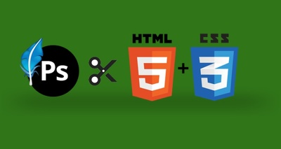Convert PSD to HTML (HTML5+CSS3) using Bootstrap