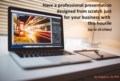 Design a PowerPoint presentation for your business
