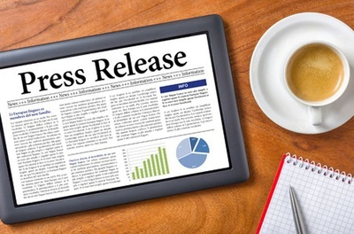 Write one influential press release for your business/product