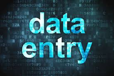 Provide 1 hours data entry work