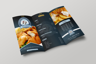 Design a professional Trifold Brochure,  Flyer, Poster, Menu