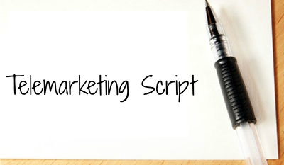 Create a bespoke telemarketing script to help generate leads, appointments & sales