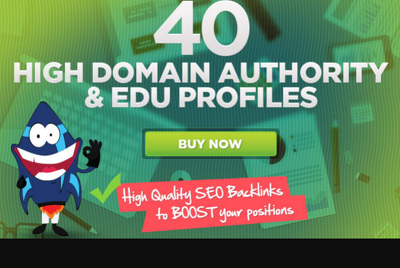 Do 40 seo backlinks from PR9 and EDU authority domains