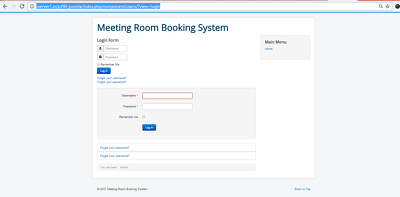 Provide Joomla Extension of Meeting Room Booking System